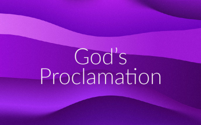 God's Proclamation