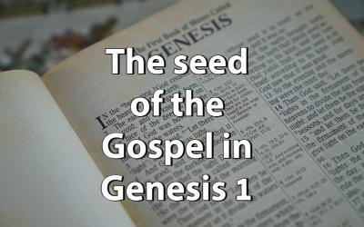 The seed of the Gospel in Genesis 1